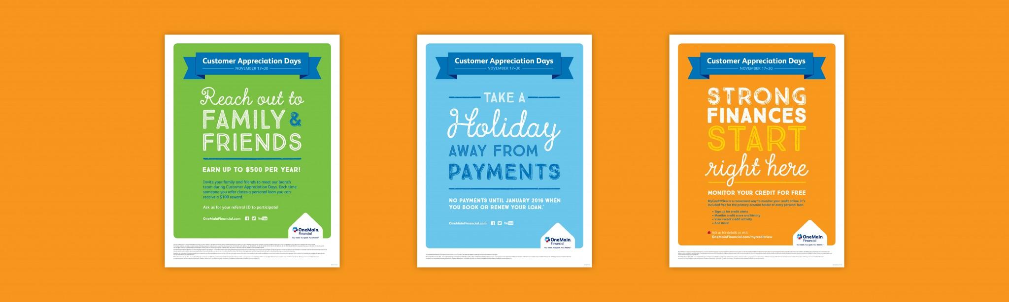 Onemain Customer Community Appreciation Days Orange Element