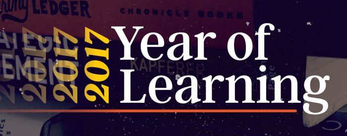 Year of Learning 2017