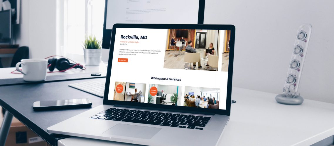 Launch workplaces website design