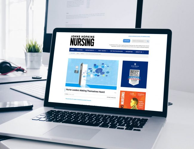 Johns Hopkins Nursing Magazine Website